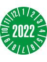Keuringssticker geheel jaartal '2022', Ø35, 60/boekje