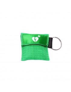 Kiss of Life beademingsdoekje, sleutelhanger, AED