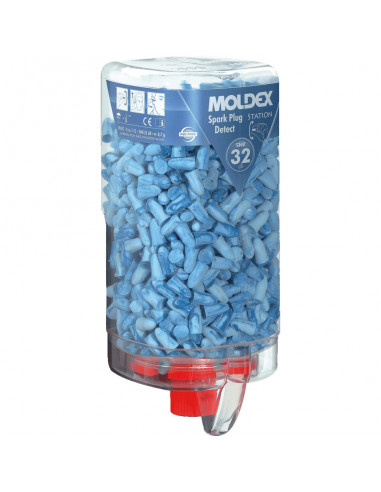 MOLDEX wegwerp-oordoppen Spark Plugs detect, 500 paar/VE