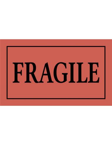 Fragile sticker 105 x 60 mm