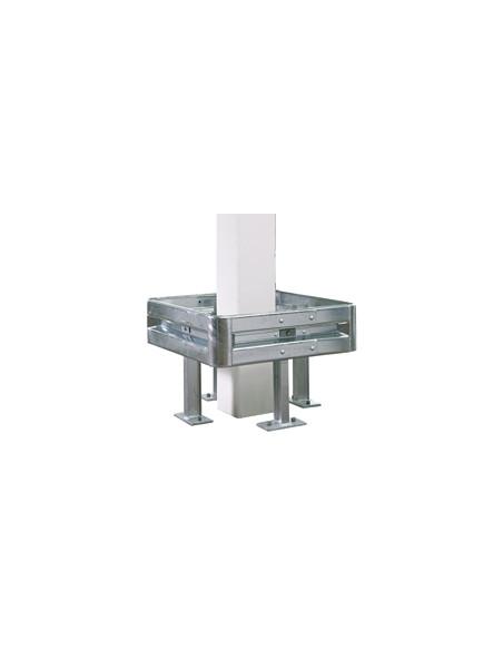 Pijler- en zuilenbeschermer, staal thermisch verzinkt, profiele, palen en toebehoren