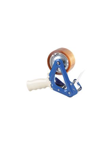 Verpakkingsbandenset: 36 rollen bruine polypropyleenband, 1 handroller
