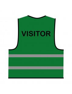 Veiligheidshesje groen 'Visitor'