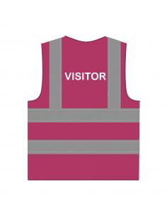 Veiligheidshesje 'Visitor' RWS lichtpaars