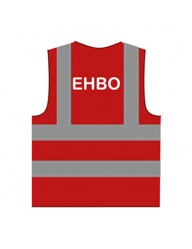Veiligheidshesje 'EHBO' rood