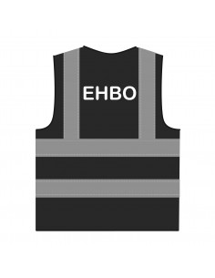 Veiligheidshesje 'EHBO' RWS zwart
