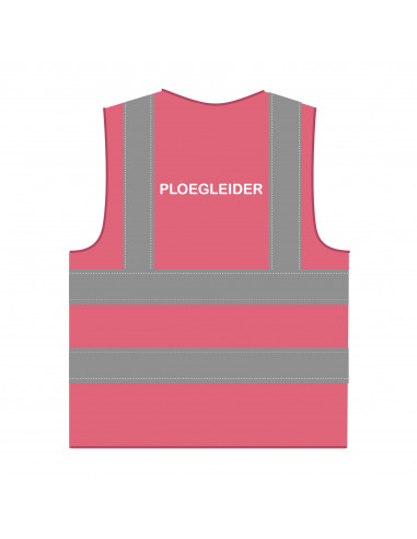 Veiligheidshesje 'Ploegleider' RWS roze