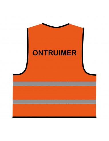 Veiligheidshesje oranje 'Ontruimer'