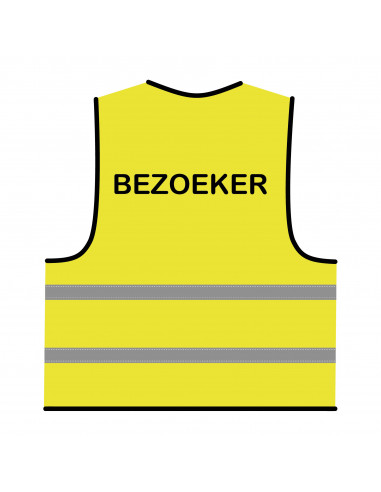 Veiligheidshesje geel 'Bezoeker'