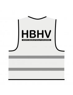 BHV hesje wit 'HBHV'