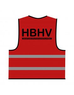 BHV hesje rood 'HBHV'