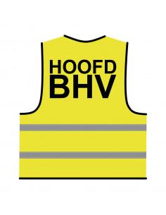 BHV hesje geel 'Hoofd BHV'