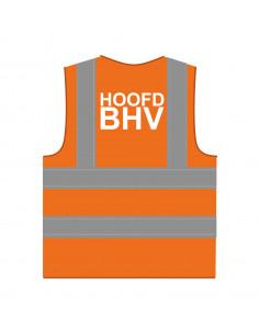 BHV hesje RWS oranje 'Hoofd BHV'