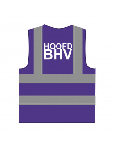 BHV hesje RWS paars 'Hoofd BHV'