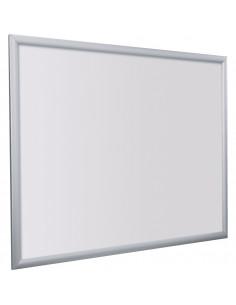 Wissellijst 500x700mm, brandwerend met klapbaar profiel, zilver, aluminium