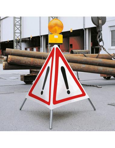 Inklapbare signalering, driepoot \'algemeen waarschuwingsteken\', 600 mm