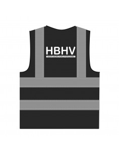 RWS hesje 'HBHV' zwart