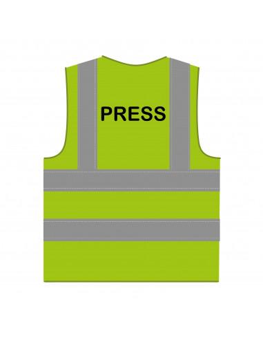 RWS hesje 'Press' limoengroen