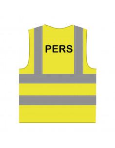 RWS hesje 'Pers' geel