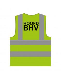 RWS hesje 'Hoofd BHV' limoengroen