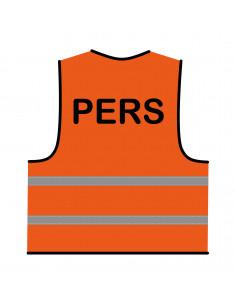 Veiligheidshesje 'Pers' oranje