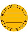 Keuringssticker om zelf te beschrijven, Ø 30mm - Ø 40mm
