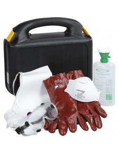 PBM-koffer type A met beschermende uitrusting volgens GGVS en ADR