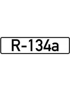 Leidingmarkeringsetiket R-134a