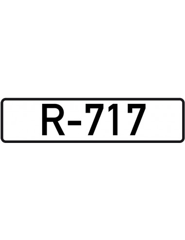 Leidingmarkeringsetiket R-717