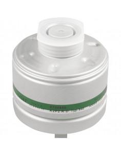 Dräger ademhalingsbeschermingfilter K2 P2 R D, EN 141, voor half-/volgelaatsmaskers, EN 148/1, 300g