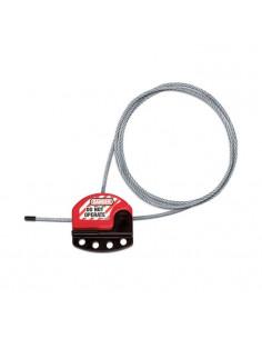 Masterlock Zenex kabelvergrendeling S806 lock out, 1,8 m