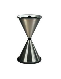 Asbak (staand) Diabolo, kegelvormig, Ø 405 mm, 770 mm