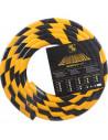SHG Flexibel beschermingsprofiel type A, zelfklevend / te bevestigen met schroeven, geel/zwart, PU