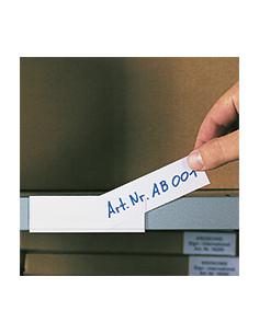 Set Etikettenhouders en papieretiketten, beschrijfbaar, 100/VE