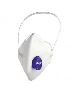 Dräger FFP3 D stofmasker met ventiel X-plore® 1730V, 10/VE