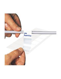 Kabeletiketten om zelf te beschrijven,wit,zelfklevende folie (sticker)