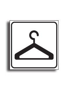 Sticker 'Garderobe', pictogram
