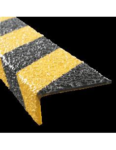 Anti slip R13 trapneus, geel/zwart
