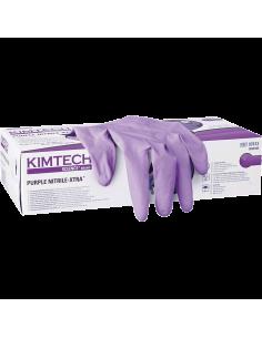 Kimberly Clark 97611 Purple Nitrile XTRA wegwerphandschoen doosje van 50 stuks
