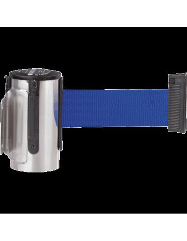 Wandcassette GLW 45, blauw, roestvrij staal