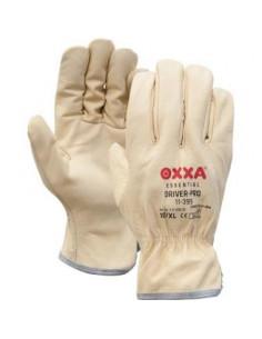 OXXA Driver-Pro 11-399, buffellederen créme kleurige OXXA handschoen, creme kleur, driver