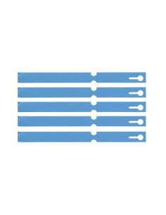 Sleutelhangers lus, beschrijfbaar, pvc, 160 x 12,7 mm, 1000/VE