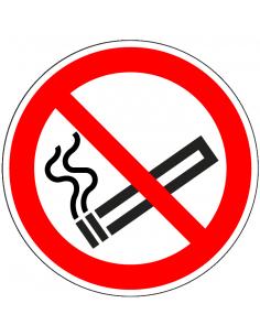 Niet roken sticker, ISO...