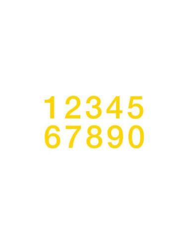 Cijfers 0-9 (sticker)