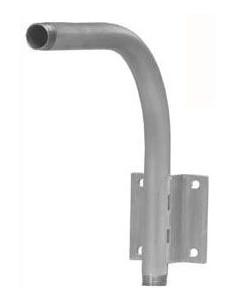 Krusman wandbeugel voor 3836, horizontale plensdouche 170 l/min