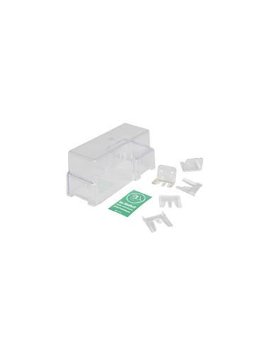 Reservehoes voor deurklinken zonder bevestigingselementen, 82x215 x 100 mm