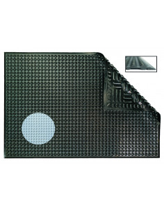 Ergomat Nitril, 60 X 90, Zwart
