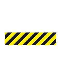 3M Antislipband Safety-Walk type 1, geel/zwart, voor innen/buiten, 800 x 200 mm