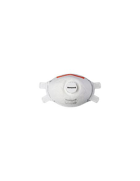 Honeywell filterende fijnstofmaskers (halfgelaatsmaskers) 5321 FFP3D, EN 149, maat M/L, 5/VE