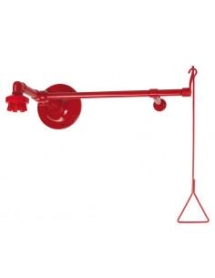 TOF horizontale plensdouche met 6 vaste nozzles, voor montage boven deur
